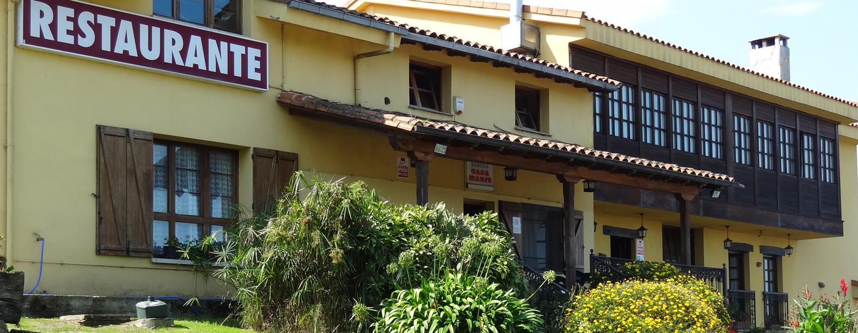 Mirador de Deva - Entrada a nuestro restaurante Casa Mario